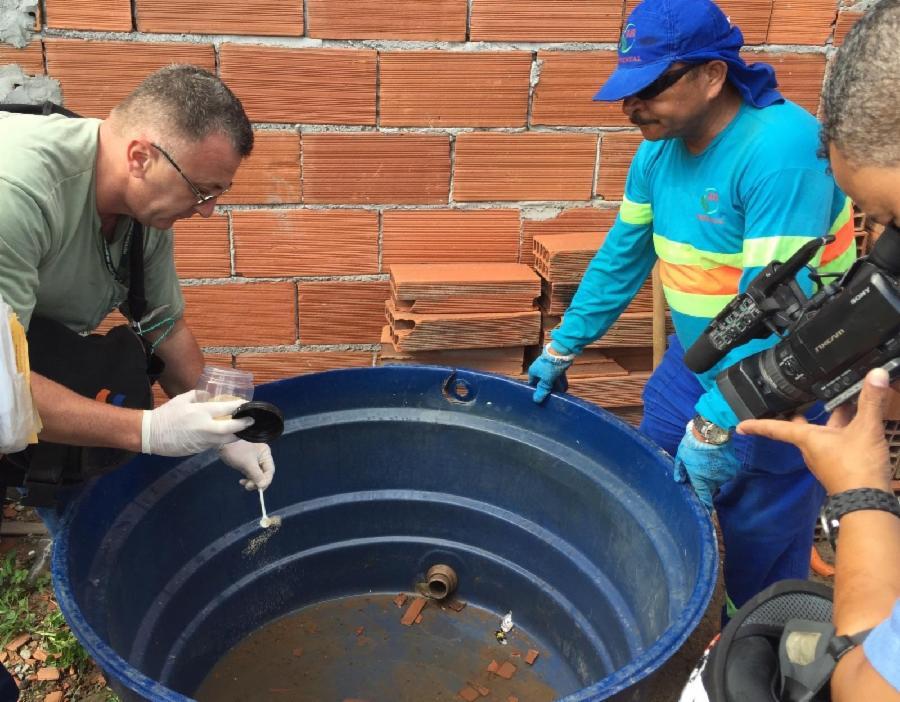Serra reforça ações contra a dengue