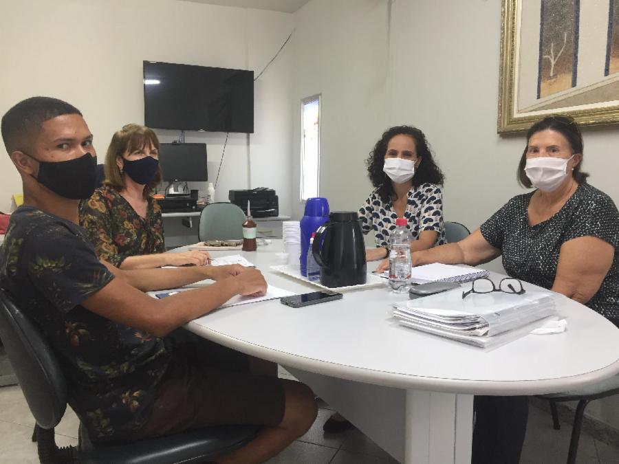 Conselho Municipal de Saúde realiza reunião da Mesa Diretora