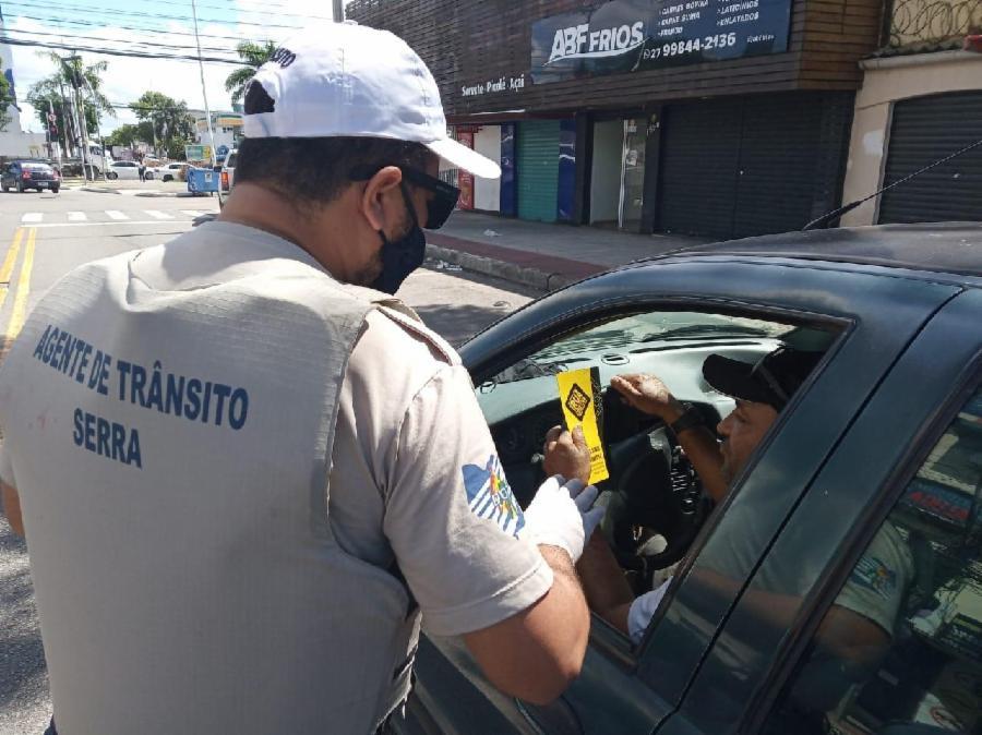 Campanha promove empatia no trânsito de Laranjeiras, Planalto Serrano e Centro da Serra