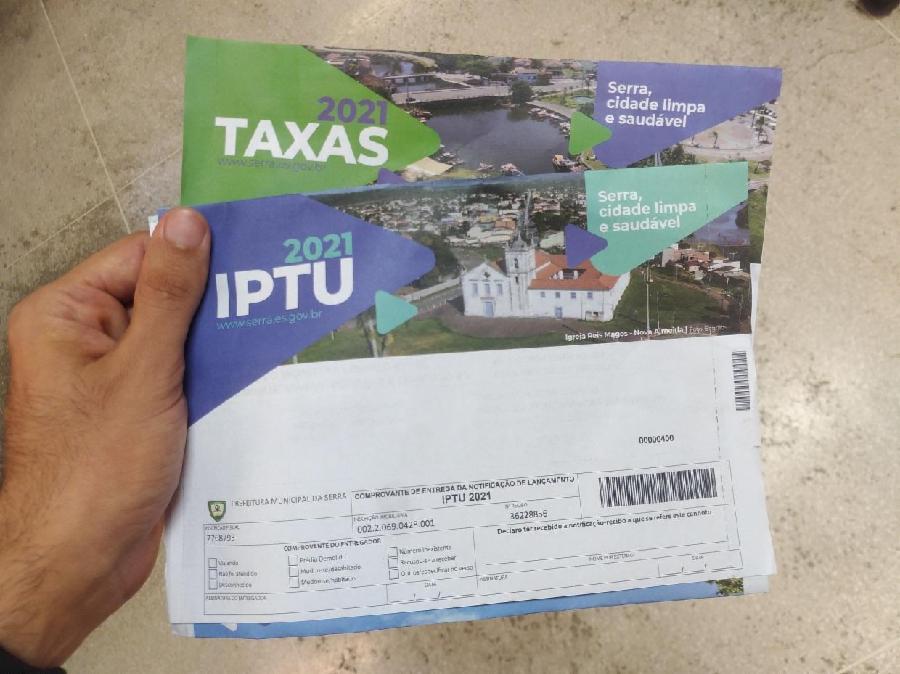 Moradores da Serra vão ter mais prazo para pagar IPTU