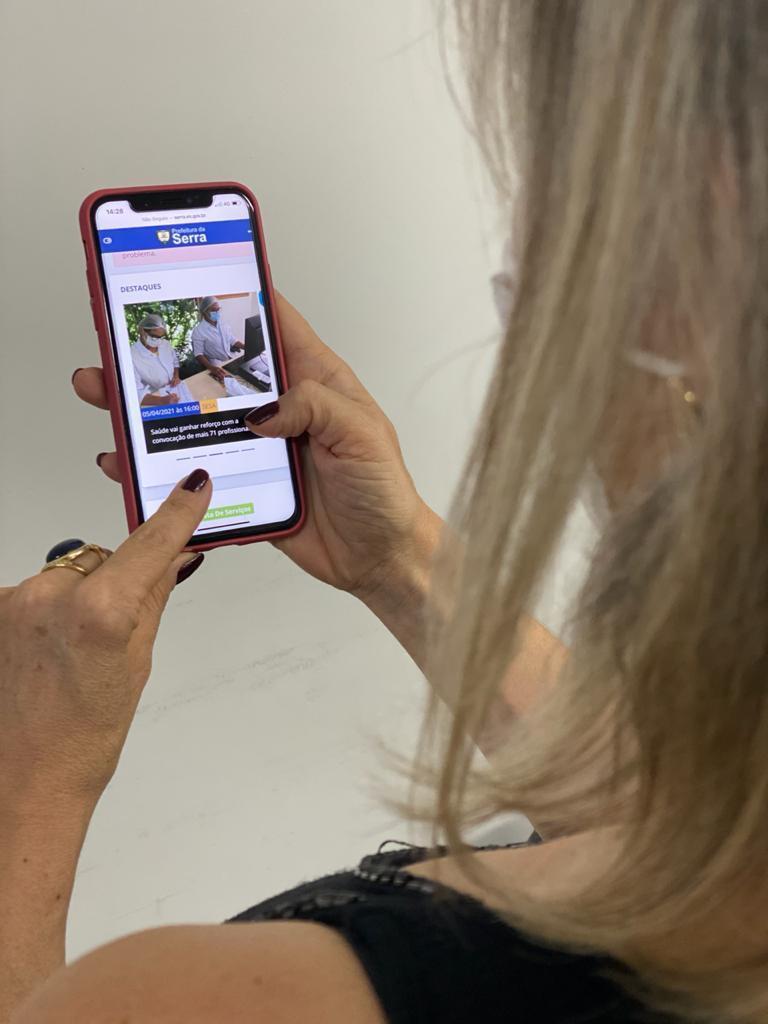 Internet de graça para pacientes das Unidades de Saúde da Serra