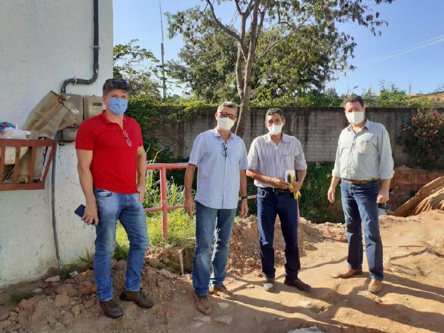 Desvio de adutoras da Cesan em Planalto Serrano deve ser concluído em 20 dias