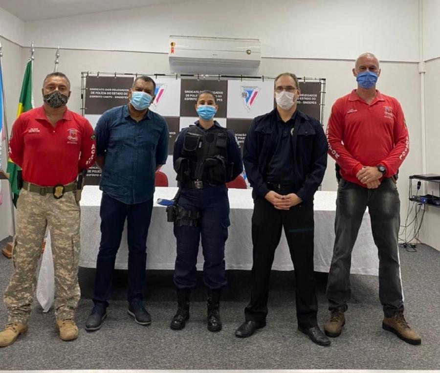 Guardas Municipais da Serra participam de capacitação no uso de arma de fogo