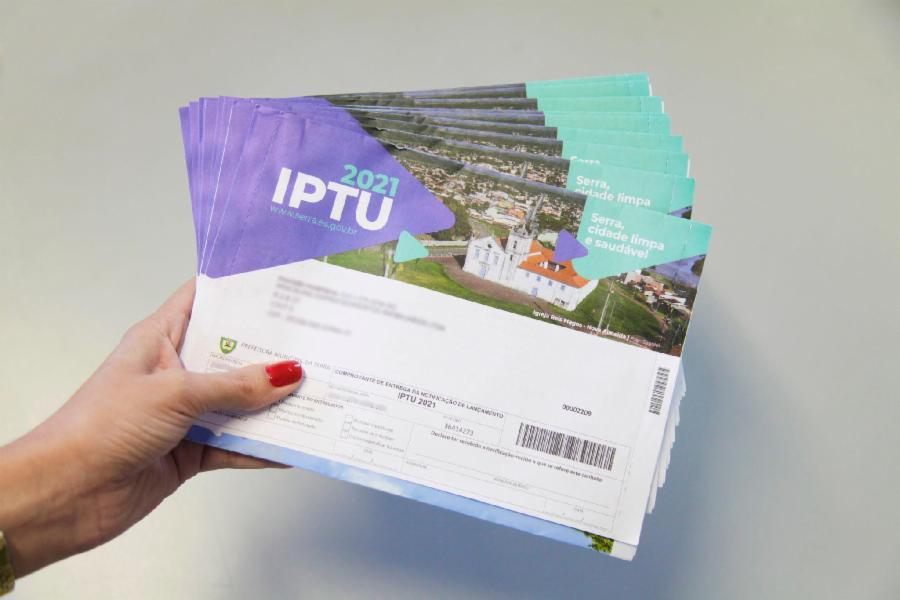 IPTU vence nesta  terça- feira, dia 15