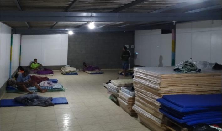 Semas institui base de abrigo noturno para pessoas em situação de rua