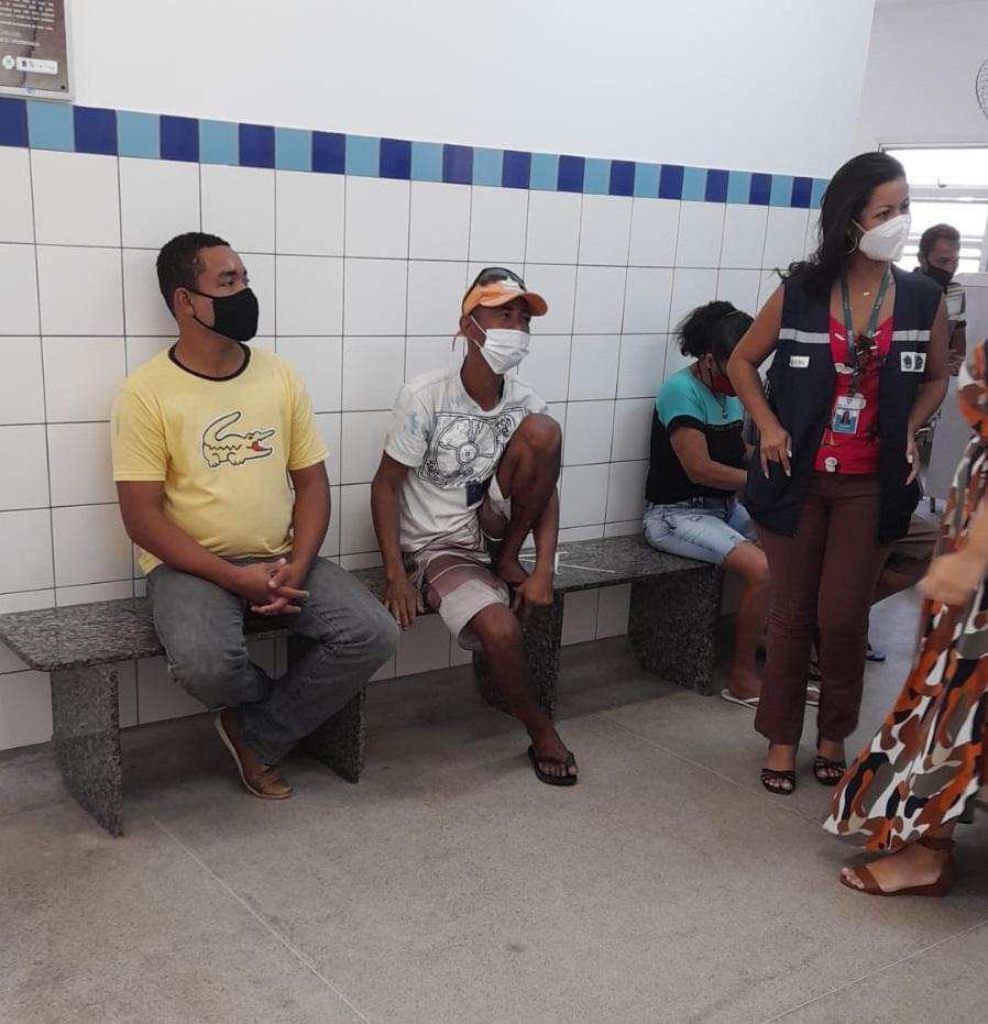 Semas e Sesa iniciam nova etapa de imunização das pessoas em situação de rua