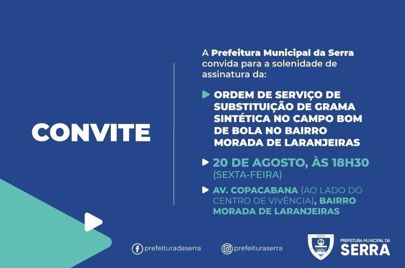 Prefeitura inicia melhorias no campo de Morada de Laranjeiras