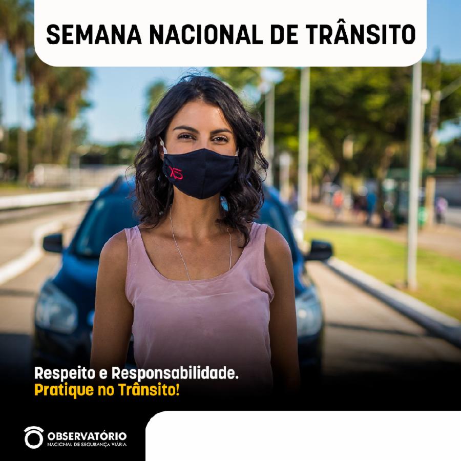 Semana Nacional do Trânsito reforça responsabilidade para salvar vidas