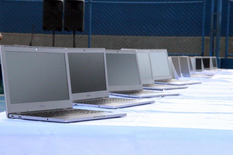 Educação da Serra avança com ajuda de novos equipamentos e novas tecnologias
