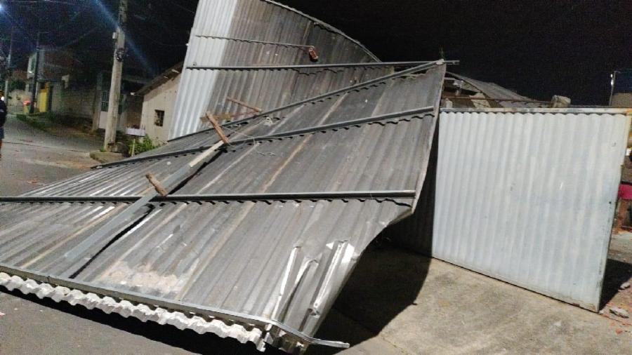 Defesa Civil atua para reduzir danos após vendaval na Serra