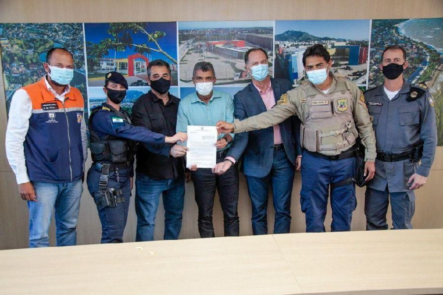 Guarda Civil Municipal da Serra é integrada ao Ciodes em convênio com a Sesp