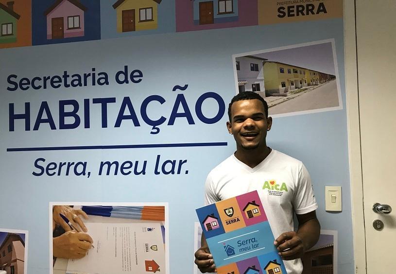 Conheça uma história de vida transformada com ajuda da rede de atendimentos sociais da Prefeitura da Serra