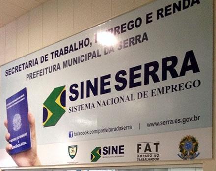 Sine da Serra disponibiliza 74 vagas de emprego nesta sexta-feira (20)