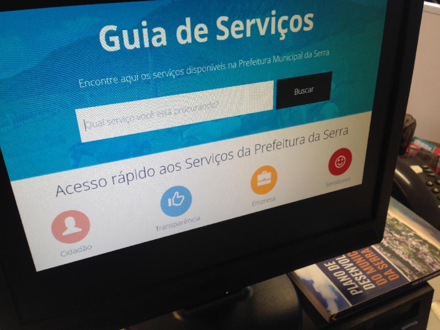 Nota fiscal eletrônica e concursos são os mais procurados no guia de serviços