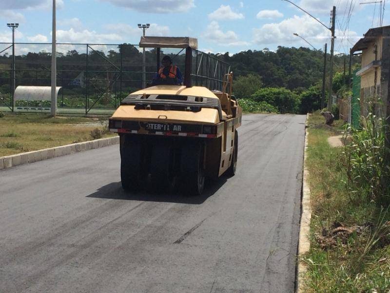 Carapina Grande recebe nova obra de asfaltamento neste s�bado (25)