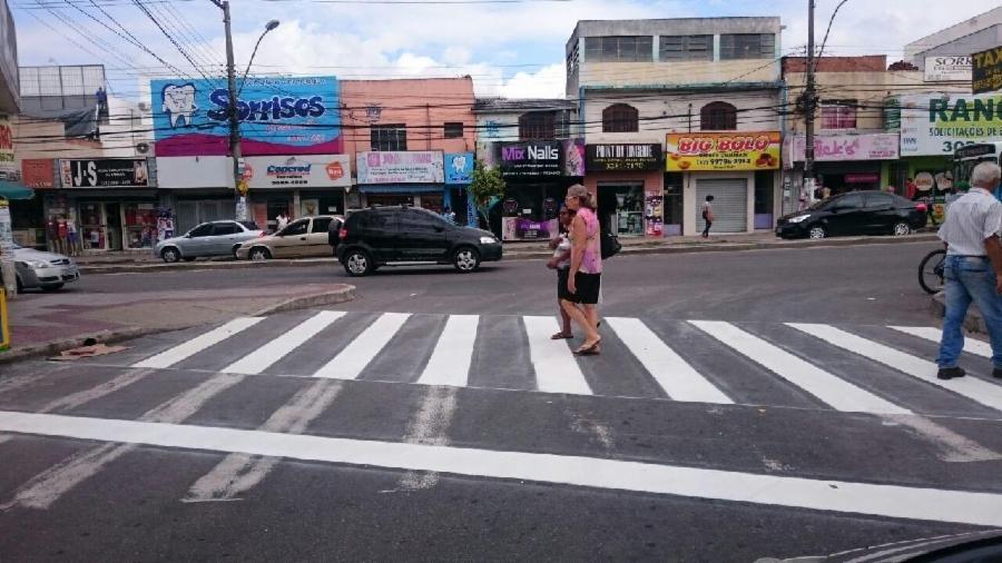 Sinalização altera trânsito emLaranjeiras