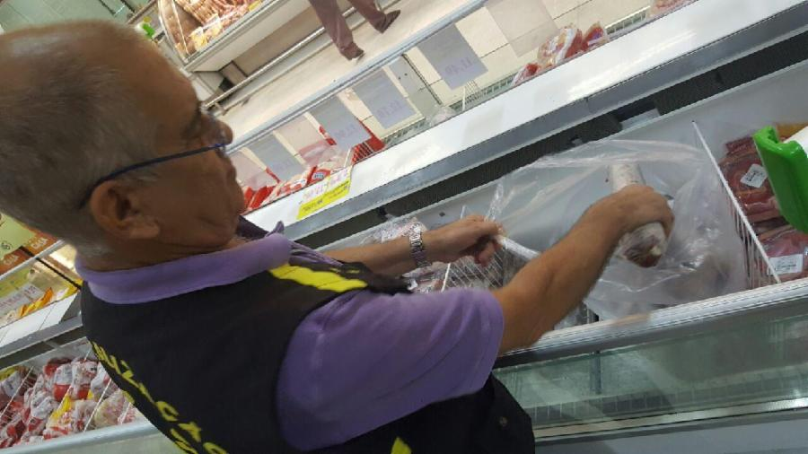 Procon da Serra apreende 87 Kg de produtos impróprios para consumo
