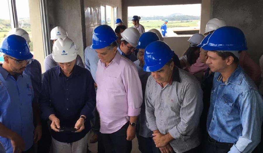 Nova fonte de abastecimento de água para a Serra (REIS MAGOS)