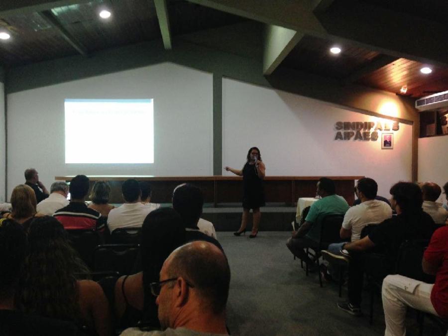 Vigilância Sanitária da Serra dá palestra sobre saúde