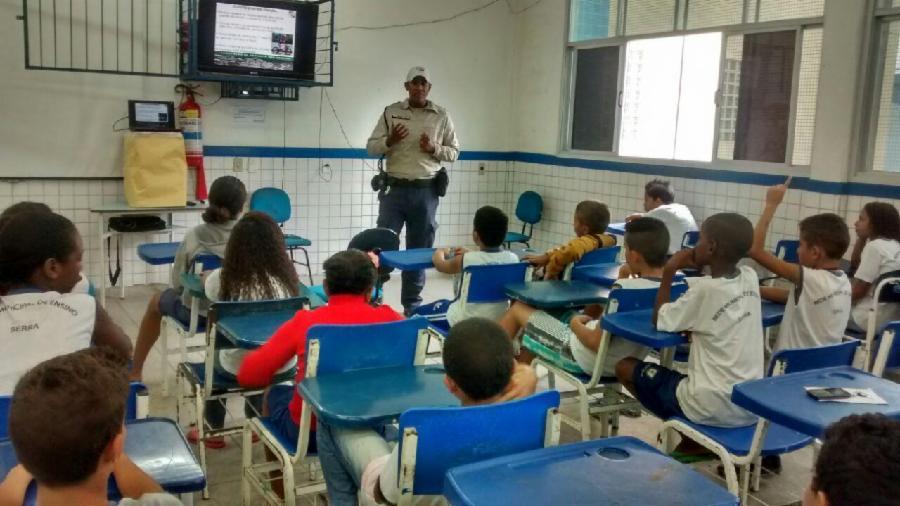 Mais de 400 crianças receberão lições para um trânsito mais seguro em José de Anchieta
