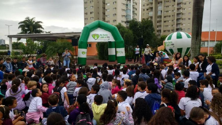 Parque da Cidade é palco de peça teatral de educação para o trânsito
