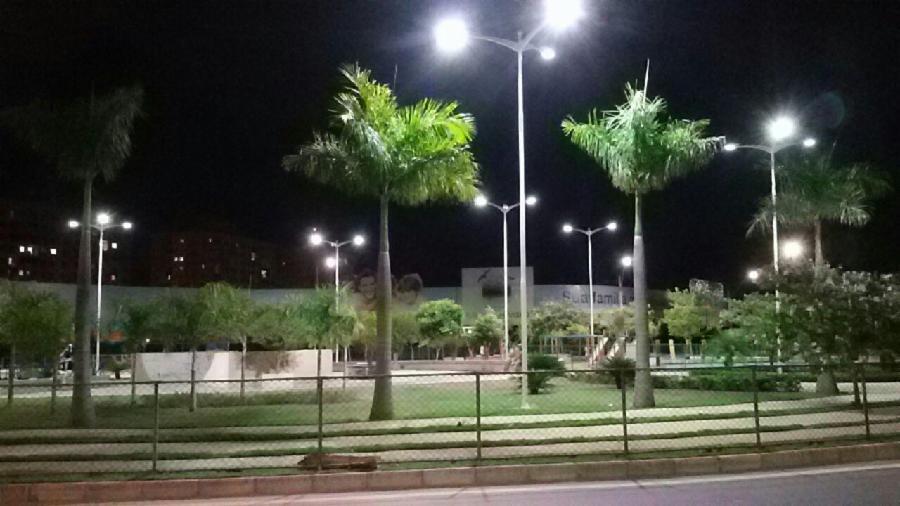 Bairros da Serra ganham lâmpadas mais potentes e econômicas