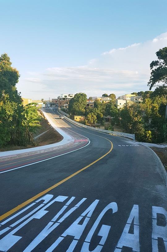 Inauguração da estrada de Eldorado x Nova Carapina I neste sábado (24)