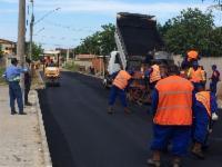 Prefeito dá largada para pavimentação e drenagem em Balneário de Carapebus