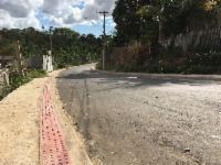 Concluída pavimentação em Nova Carapina II