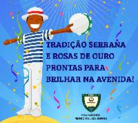 Escolas de samba da Serra vão com tudo no Sambão do Povo nesta sexta (17)