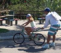 Aula de graça no Parque da Cidade para quem quer aprender a andar de bicicleta