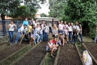 Bairros da Serra ganham hortas orgânicas