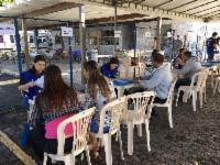 Pedreiro reduz dívida de R$ 44 mil para R$ 81 em Feirão na Serra