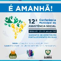 Fortalecimento do Sistema Único de Assistência Social em debate na Serra nesta quinta (27)
