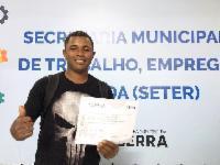 Curso de qualificação dá nova vida a ex-morador de rua na Serra
