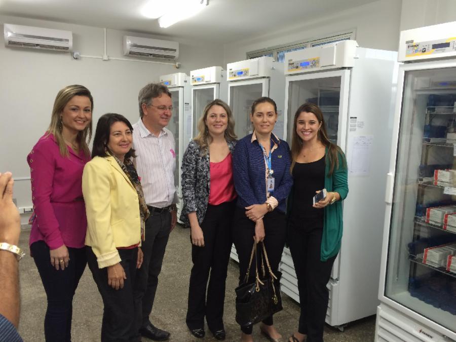 Rede de Frio: sala de armazenamento de vacinas recebe reforma
